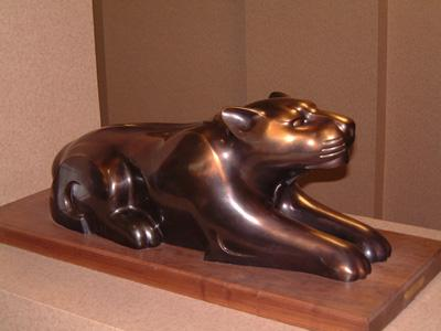 "Shadow, bronze, 33"" long"
